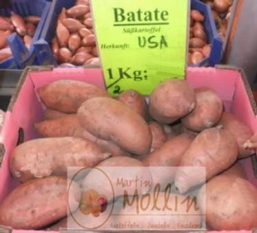 Geschälte kartoffeln braun essbar